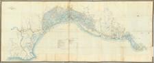 Italy Map By Jean Joseph Augustin Sorbier