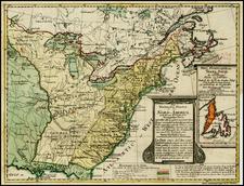 United States and Canada Map By Daniel Friedrich Sotzmann