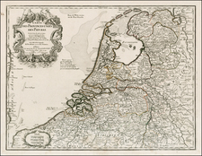 Netherlands Map By Jean-Claude Dezauche