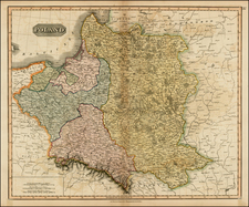 Poland and Baltic Countries Map By John Thomson