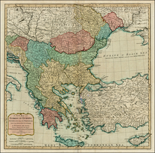 Greece, Turkey, Balearic Islands and Turkey & Asia Minor Map By Richard Holmes Laurie  &  James Whittle