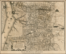 Map By Paul de Rapin de Thoyras