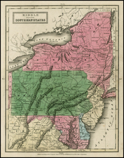 Mid-Atlantic Map By D.F. Robinson