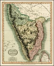 India Map By John Cary