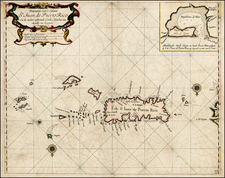 Caribbean Map By Arent Roggeveen