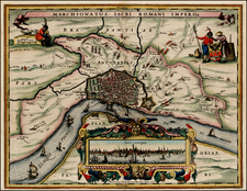 Map By Pieter van den Keere