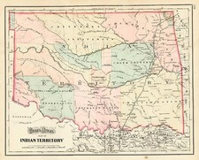 Plains and Southwest Map By O.W. Gray