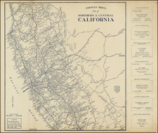 California Map By Thomas Brothers