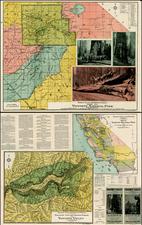 California Map By Julius C. Henkenius / Sunset Press