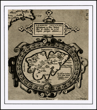 Greece and Balearic Islands Map By Abraham Ortelius