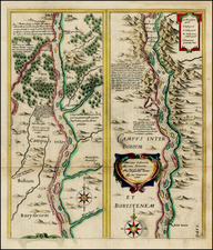 Russia Map By Willem Janszoon Blaeu