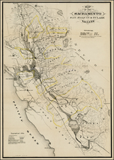 California Map By George Holbrook Baker