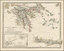 Greece and Balearic Islands Map By SDUK