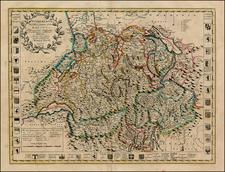Switzerland Map By John Senex