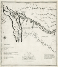 Texas, Southwest and Rocky Mountains Map By Zebulon Montgomery Pike
