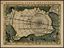 Southern Hemisphere and Polar Maps Map By Petrus Bertius