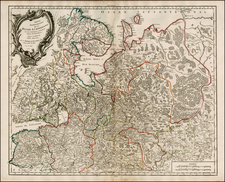 Russia, Finland and Russia in Asia Map By Gilles Robert de Vaugondy