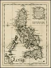 Philippines Map By Thomas Kitchin