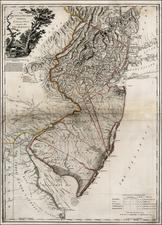 Mid-Atlantic Map By William Faden