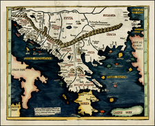 Greece Map By Lorenz Fries