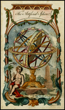 Celestial Maps and Curiosities Map By William Guthrie