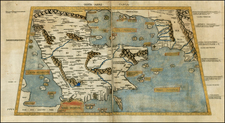 Middle East Map By Claudius Ptolemy