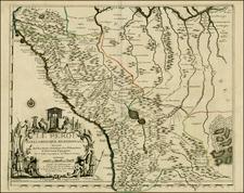 South America Map By Nicolas de Fer