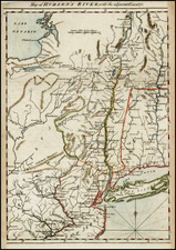 Mid-Atlantic Map By Gentleman's Magazine