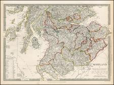 Scotland Map By SDUK