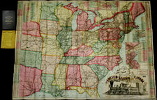 United States Map By Gaylord Watson