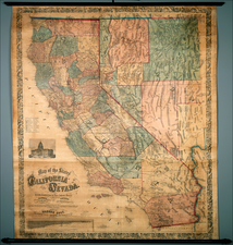 California Map By Warren Holt  &  S.B. Linton