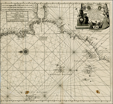Spain, Portugal, North Africa, African Islands, including Madagascar and Balearic Islands Map By Johannes Loots