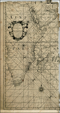 Middle East, Africa, East Africa and African Islands, including Madagascar Map By Johannes Loots
