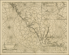 Southeast and North Carolina Map By John Thornton