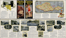 California Map By Los Angeles Lithographic Co.