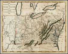 Mid-Atlantic, Southeast and Midwest Map By Carey  &  Warner