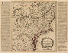 New England, Mid-Atlantic, Midwest and Canada Map By Henry Overton