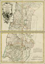 Holy Land Map By Joseph Nicholas de L'Isle