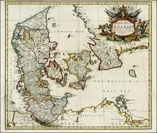 Scandinavia Map By John Senex