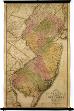 Mid-Atlantic Map By Thomas Gordon