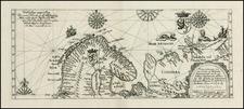 Polar Maps, Russia and Scandinavia Map By Theodor De Bry