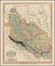Poland Map By John Cary