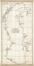 Asia and Russia in Asia Map By Jean-Baptiste Bourguignon d'Anville