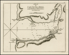 Caribbean and Hispaniola Map By Sayer & Bennett