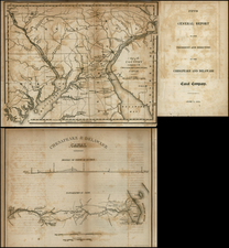 Mid-Atlantic Map By Henry Schenk Tanner