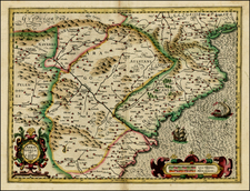 Spain Map By Michael Mercator