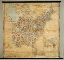 United States Map By David Hugh Burr