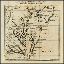 Mid-Atlantic and Southeast Map By Andrew Bell