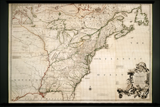 United States, New England, Mid-Atlantic, Southeast, Midwest and North America Map By John Mitchell