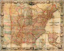 United States Map By J. Calvin Smith